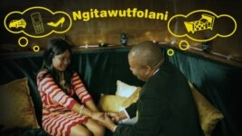 Swaziland billboard warns young women against dating married men. (photo: Daniel Halperin)
