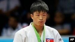 북한의 홍국현 선수. (자료사진)