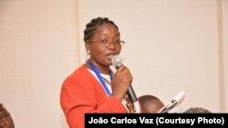 Verónica Sapalo, jurista e directora da Plataforma das Mulheres em Acção - foto cedida pela própria