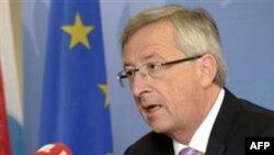 Thủ Tướng Juncker nói ông hy vọng kiểm toán viên của IMF, Ngân Hàng Trung Ương Châu Âu, và EU sẽ hoàn tất việc duyệt xét và sẽ đề nghị chấp thuận biện pháp hỗ trợ Hy Lạp