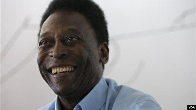 Legenda sepakbola dari Brazil, Pele sukses menjalani operasi pinggul (foto: dok).