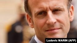 Le président français Emanuel Macron au palais de l'Élysée, à Paris, le 12 mai 2021.