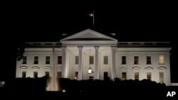 نمای بیرونی کاخ سفید