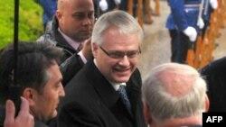 Hrvatski predsednik Ivo Josipović u Sarajevu, 14. aprila 2010.