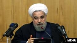 하산 로하니 이란 대통령이 15일 국영 TV에 출연해 미국 내 동결돼 있는 20억 달러 자산을 반환받기 위한 소송을 제기했다고 발표했다. (자료사진)