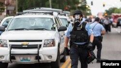 Policija u Sent Luisu, u Mizuriju