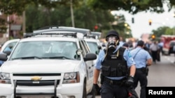St. Louis Protesters Clash with Police After Fatal Shooting