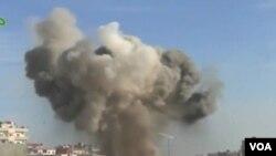 Violencia sin control en Siria. Los bombardeos del régimen contra las posiciones rebeldes son constantes.