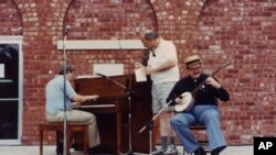 Performers at Sedalia's annual Ragtime Festival