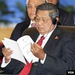 Presiden Susilo Bambang Yudhoyono: Indonesia tetap memerlukan masterplan ekonomi yang terarah.