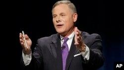 """""""El comentario que hice fue inapropiado y pido disculpas por ello"""", dijo el senador Burr en un comunicado."""