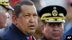 委内瑞拉总统查韦斯1月17日在加拉加斯