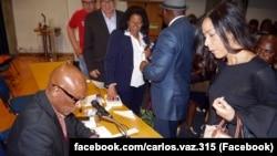 Carlos Vaz, apresentação do livro Escritos no Silêncio em Lisboa