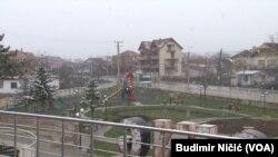 Gračanica u vreme mere zabrane kretanja koju je proglasila Vlada Kosova