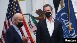 Biden visits California