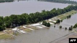 Potopljena područja u Luizijani
