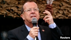 Martin Kobler, chef de la Mission des Nations unies au Congo