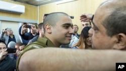 Элор Азария (слева). Тель-Авив, Израиль. 21 февраля 2017 г.