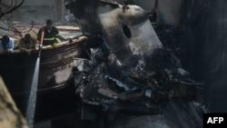 PIA Plane wreckage