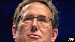 Respublikachilardan prezidentlikka yana bir da'vogar - Rik Santorum