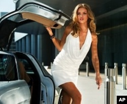 Rosie Huntington-Whiteley plays Carly in TRANSFORMERS: DARK OF THE MOON, from Paramount Pictures.