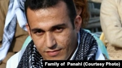 Ramin Hossein Panahi faces execution in Sanandaj, Iran.