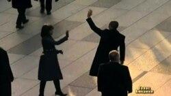Після інавгурації Обама йшов до Білого дому пішки