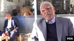 Retiree Seydat predicts strong support for the HDP because of voter anger over the removal by authorities of elected mayors of the pro-Kurdish party. (D. Jones/VOA)