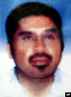 FILE - In this photo released by Indonesian National Police on Aug. 21, 2003, Southeast Asian terror mastermind Hambali is shown.