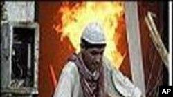 بھارت: سات منزلہ عمارت میں آگ، 24 لوگ ہلاک ہو گئے