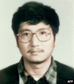 刘文彩的孙子刘小飞 (1990年资料照片)