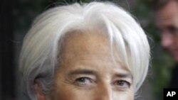 ທ່ານນາງ Christine Lagarde ຫົວໜ້າບໍລິຫານກອງທຶນສາກົນຫລື IMF.