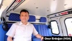 ersin Büyükşehir Belediyesi Ulaşım Dairesi Başkanı Ersan Topçuoğlu