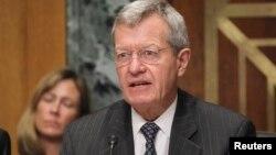 FILE - U.S. Senate Finance Committee Chairman Max Baucus
