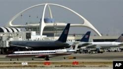 미국 로스엔젤레스 국제 공항. (자료사진)