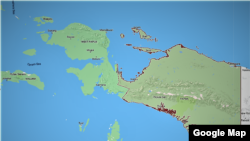 Provinsi Papua (Cortesy: Google Map).