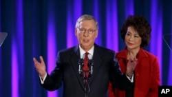 現任共和黨領袖麥康奈爾連任參議員成功