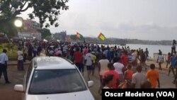 Manifestação em São Tomé e Príncipe contra PR e Governo