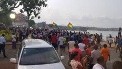 Oposição são-tomense vai às ruas contra Presidente e primeiro-ministro