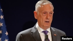 Menteri Pertahanan Amerika, Jim Mattis