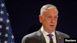 Tổng thống Trump mới đây nói Bộ trưởng Mattis có thể đang lên kế hoạch để từ nhiệm, 14/10/2018