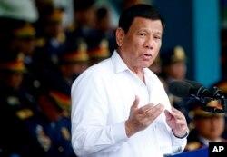 ប្រធានាធិបតីហ្វីលីពីន Rodrigo Duterte៕