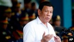Ông Duterte được cho là có lập trường thân Trung Quốc