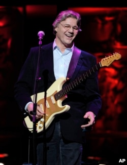 FILE - Steve Miller performs at the 25th annual ASCAP Pop Music Awards, in Los Angeles, April 9, 2008.