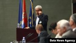 Predsednik Demokratske stranke Boris Tadic