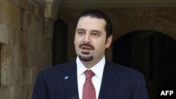 حریری، نخست وزیر لبنان، اسامی اعضای کابینه خود را به پارلمان ارائه می دهد