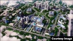 Tashkent City loyihada