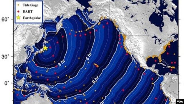 Las olas pueden alcanzar los 800 kilómetros por hora y una altura de hasta más de 30 metros.