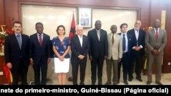 Tulinabo Mushingi fala em nome dos diplomatas depois de encontro em Bissau