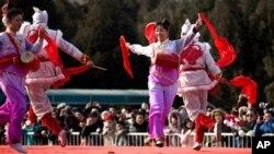 中國迎接新年蛇年